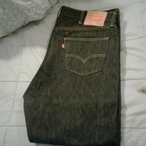 Levi's 501's Dark Rinse Jeans